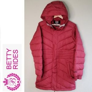 BETTY RIDES Mid Length Duck Down Puffer Jacket D8